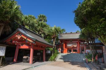 아오시마 신사 (青島神社)  JR니치난센 아오시마역(日南線 青島駅)…