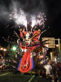 오무타 「다이자야마」 축제